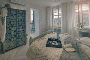 🇨🇿 Prague, apartment near Prague Castle, Anuova Line radiators