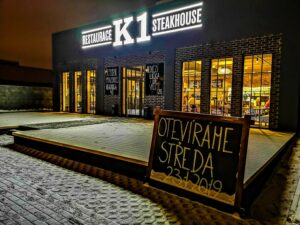 🇨🇿 Brno, K1 steakhouse, Anuova Line and Juliet