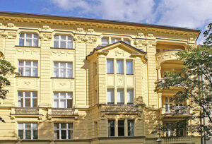 🇩🇪 Berlin, Wielandstrasse, historical building, ArtDeco radiators